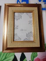 Portafotos 10x15 madera dorado o plateado
