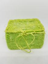 Cajita trenzada verde
