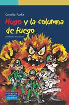 Hugo y la columna de fuego.  Cornelia Funke