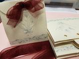 Cajitas para dulces o regalos + lacitos organza
