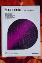 Economía 1.  Bachillerato.  Santillana