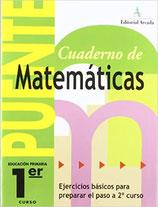 Cuaderno Puente Matemáticas 1º curso primaria. Edarca