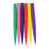 Punzón pala para bordar.  Punzones pala, ideales para el bordado (bodoques). También se utiliza para trabajar la tela en el porex y para masas