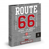 Carpeta 4 anillas ROUTE 66 gris