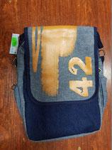Bolso bandolera Milan azul 42