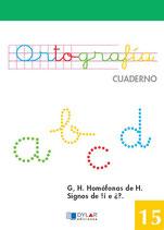 Cuadernillo Ortografia 15. Dylar