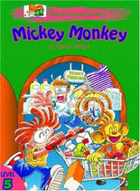 MICKEY MONKEY  by Gillian Wright.  OXFORD STORYLAND READERS.  Level 5