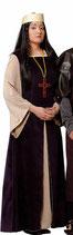 Traje Señora Medieval.  Talla 44