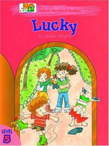 LUCKY  by Gillian Wright.  OXFORD STORYLAND READERS.  Level 5