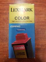 Cartucho Lexmark original 12A1980