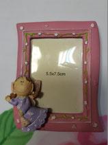Portafoto rosa angelito