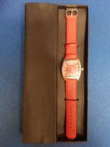 Reloj de pulsera correa roja