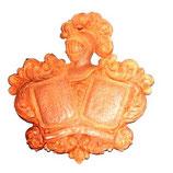 Escudo heráldico resina doble