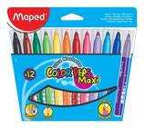 Rotuladores 12 u. Color´peps MAXI