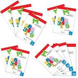 Cuadernillo Matemáticas Dylar (Franja roja)