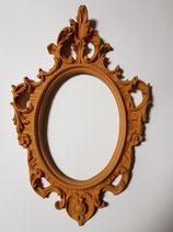 Marco ovalado 43x29 cm. Tambien puede usarse como marco de espejo