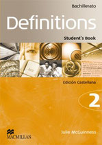 Definitions 2 Bachillerato.  MacMillan