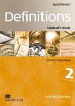 Definitions 2 Bachillerato.  MacMillan