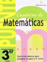Cuaderno Puente Matemáticas 3º curso primaria. Edarca