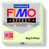 Pastilla masa FIMO EFFECT 56 g   Color 04 blanco fluorescente