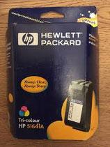 Cartucho tinta original HP tricolor 516 41 A