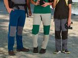Pantalon bicolor Hill.  Talla M.  Negro y gris