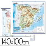Mapa mural de España