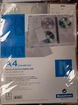 Bolsa plástica porta cds