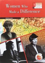 Women who made a difference.  1º Bachillerato.  Burlington