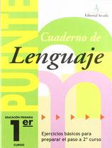 Cuaderno Puente Lenguaje 1º curso primaria. Edarca