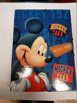 Carpeta solapas carton duro y gomas MICKEY 1928