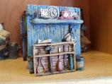Cubilete portalápices relojero