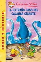 Gerónimo Stilton.  El extraño caso del calamar gigante.