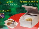 Caja almacenamiento CDs
