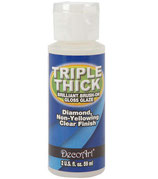 Triple Thick barniz brillante triple espeso Decoart