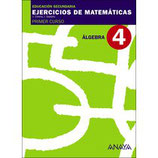 Ejercicios de Matemáticas.  Primer curso secundaria. nº 4 Anaya