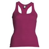 Camiseta de tirantes Carolina Roly color malva talla M