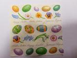 Servilleta huevos de Pascua