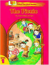 THE PICNIC by Carol MacLennan.  OXFORD STORYLAND READERS. Level 1