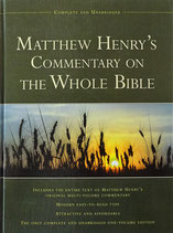 Matthew Henry´s Commentary on the Whole Bible