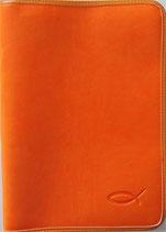 Bibelhülle Orange groß