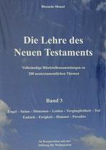 Die Lehre des Neuen Testaments - Band 3