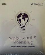 Weltgescheit & lebensklug - Hörbuch