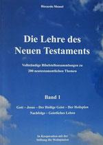 Die Lehre des Neuen Testaments - Band 1