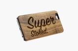 iPhone Case - WALNUT WOOD ENGRAVED