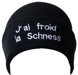 Bonnet J'ai froid la Schness