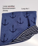 Loop Schal  für ( die Zwerge )  zum wenden