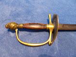 Degen für Offiziere Eidgenössische Ordonanz Schweiz um 1820