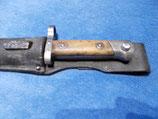 M1895 Bajonett Österreich, Mannlicher Gewehr mit Koppelschuh