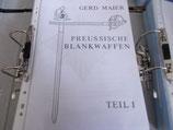 Preußische Blankwaffen Band 1-8 komplett, Gerd Maier